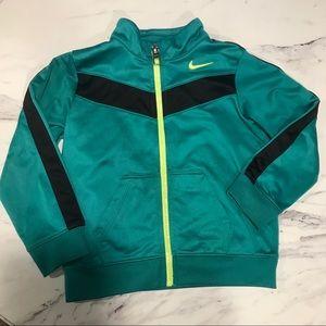 24M Green Turquoise Yellow Nike Zip Jacket